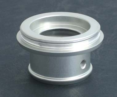 Inlet pipe mount